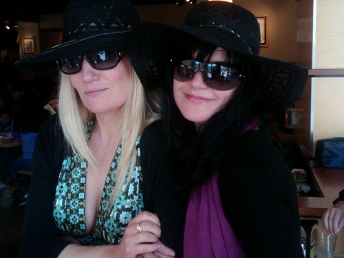 Pauley & her friend, Trish