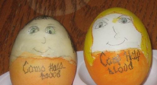Percy and Annabeth Eggs