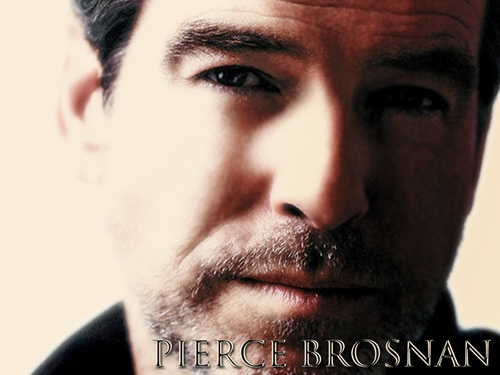 Pierce Brosnan Wall.