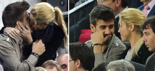 Pique and Shakira: they love exhibitionist love !!