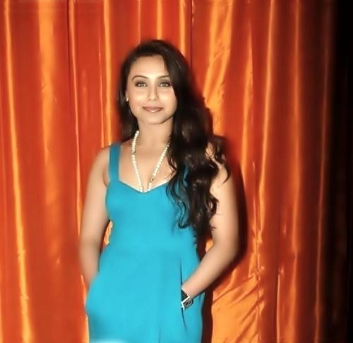 Rani Mukherjee spotted at Novotel Hotel