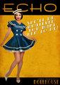 Echo Retro Poster