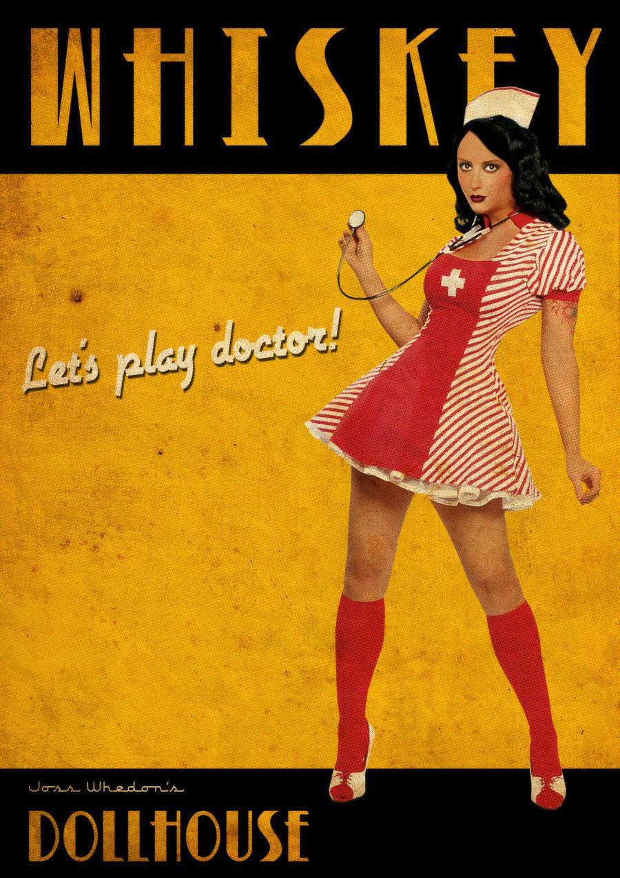 Whiskey Retro Poster