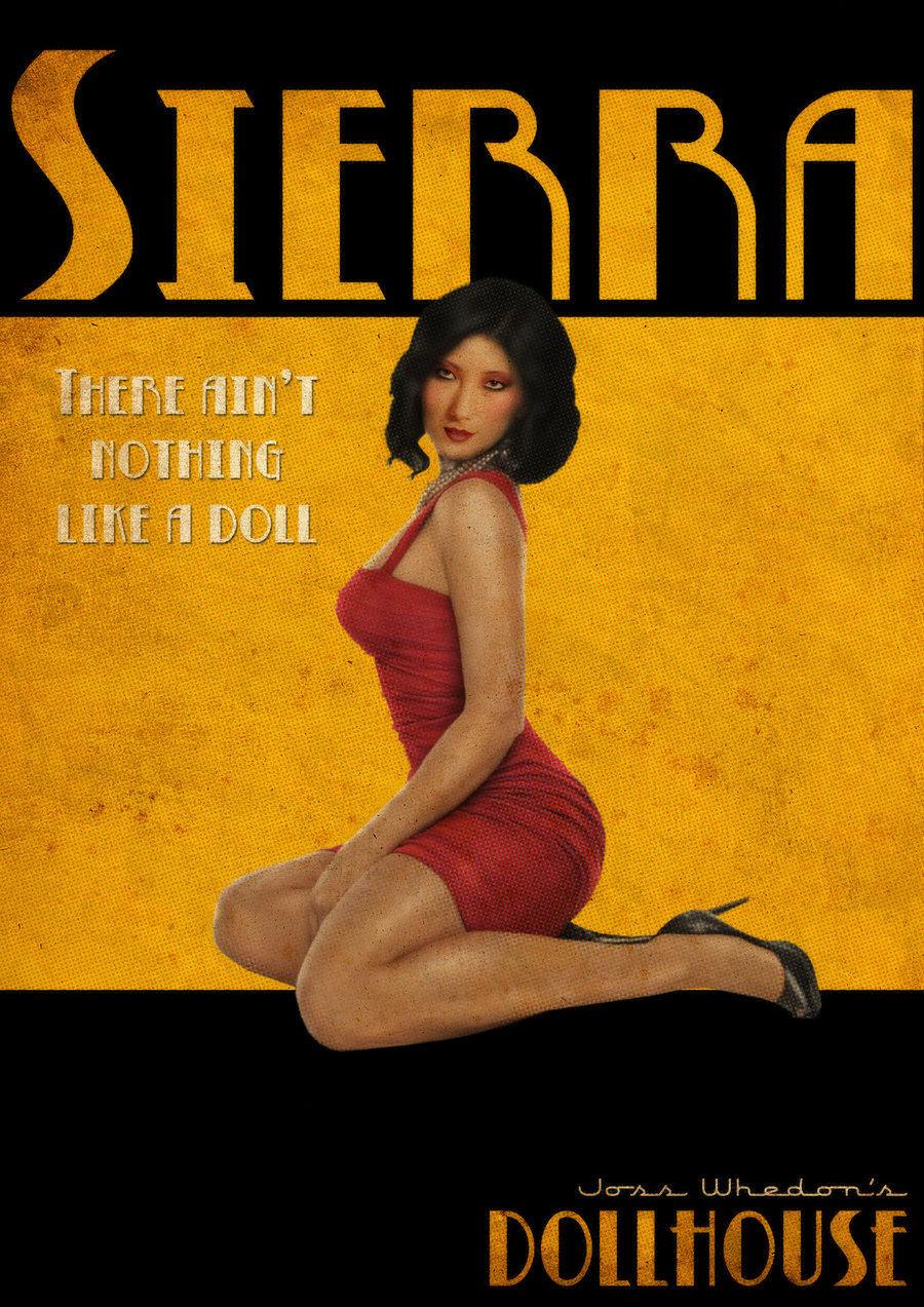 Sierra Retro Poster
