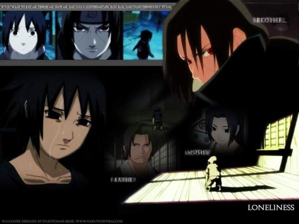 Sasuke Sad Quotes. QuotesGram Naruto And Sasuke Sad