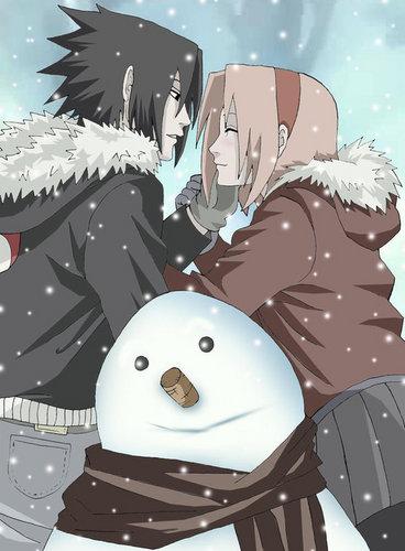 Sasuke et Sakura