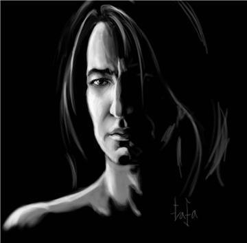 Severus Snape wallpaper with a portrait titled Severus