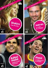 Shakira, Nadal, Messi, Juanes love