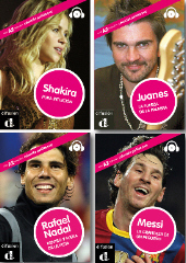 Shakira, Nadal, Messi, Juanes