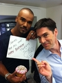 Shemar & Thomas - thomas-gibson photo