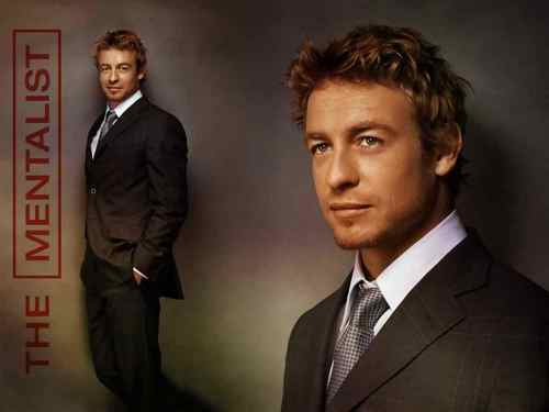 साइमन बेकर वॉलपेपर with a business suit, a suit, and a three piece suit entitled Simon Baker