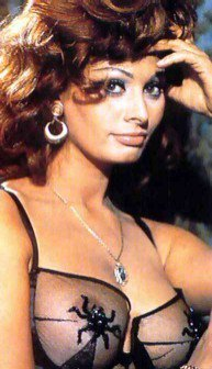 Sophia Loren wallpaper containing attractiveness and a portrait called Sophia ♥