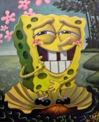 Sponge Art 7