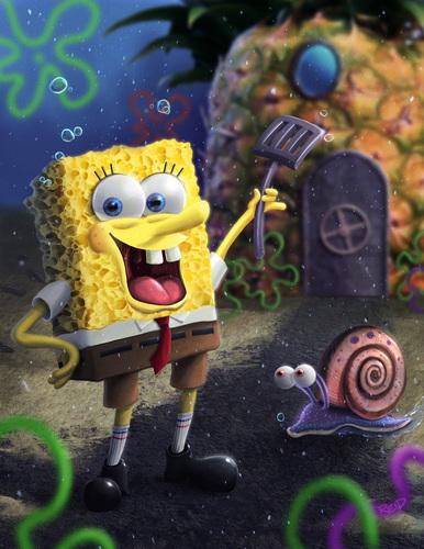 SpongeBob In Art