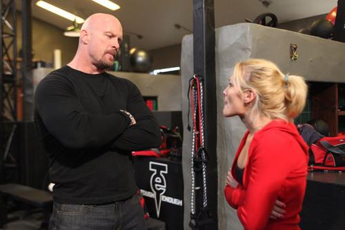 Steve Austin at WWE TOUGH ENOUGH