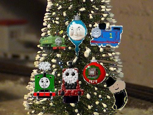 Thomas And friends Chritmas árvore