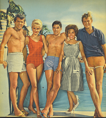 Troy Donahue, busje, van Williams