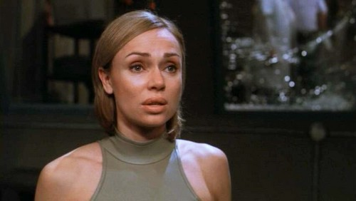 Stargate wallpaper probably with a singlet and a portrait titled Vanessa Angel