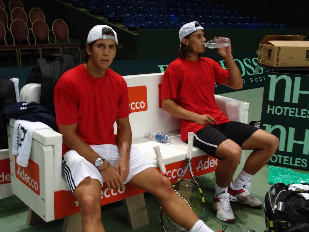 Verdasco and Nadal red hot