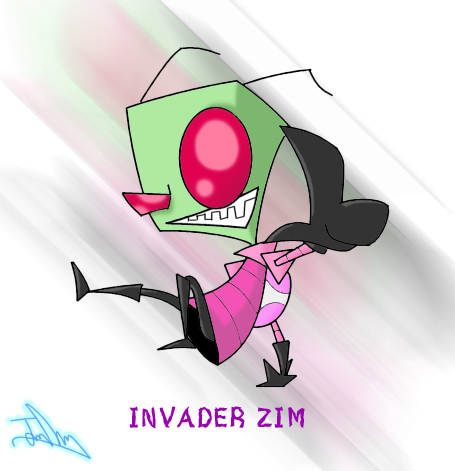 Invader Zim wallpaper entitled Very Zimmy Fanart