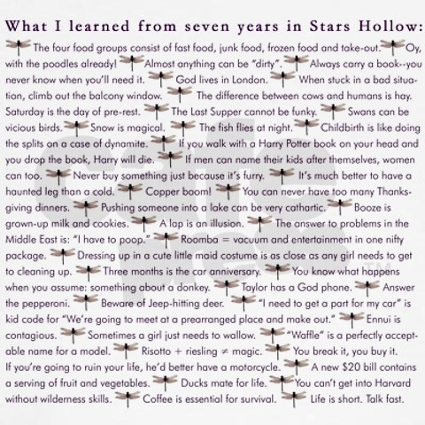 What i learned from seven years in stars hollow