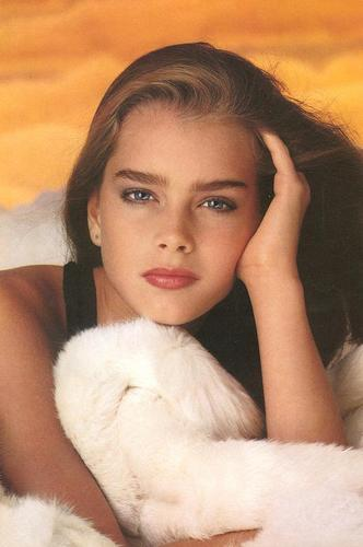 brooke shields fondo de pantalla containing a pelaje, piel capa titled beautiful brooke