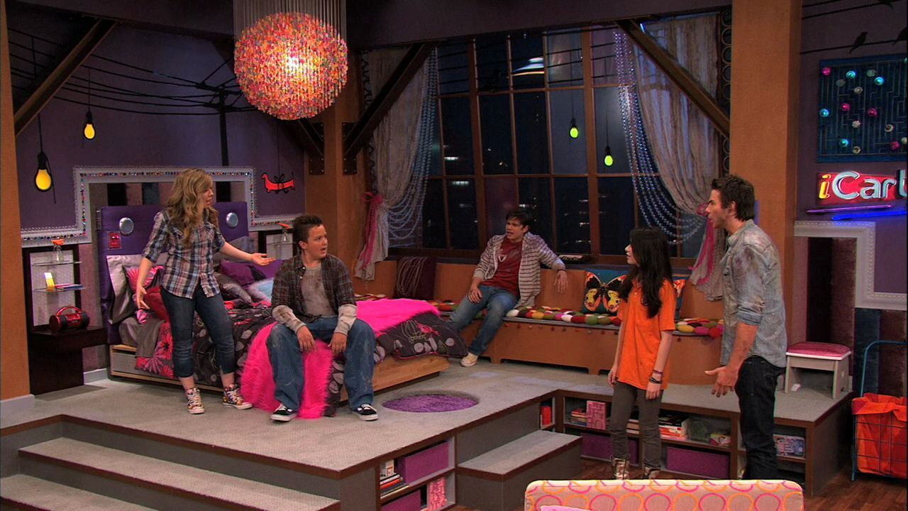 icarly icarly 4x01 igot a hot room. Black Bedroom Furniture Sets. Home Design Ideas
