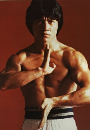 Jackie Chan wallpaper containing a six pack, a hunk, and skin called jackie