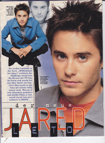 jared leto - bravo (germany) 1997