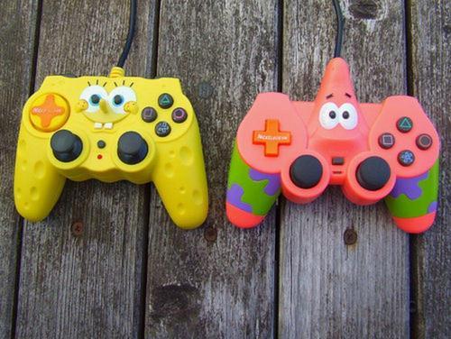 joystick, kifimbocheza spongebob