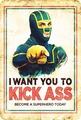 kick arsch