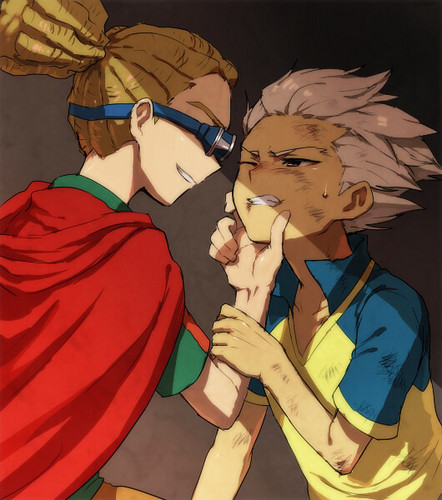 kidou and gouenji