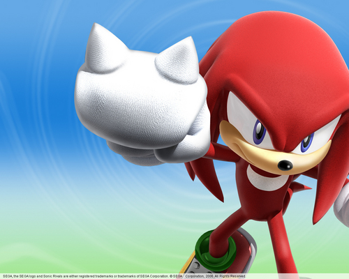 knuckles color