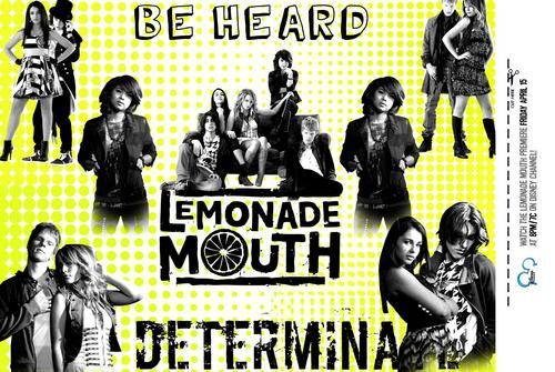 Lemonade Mouth wallpaper containing anime titled lemonade