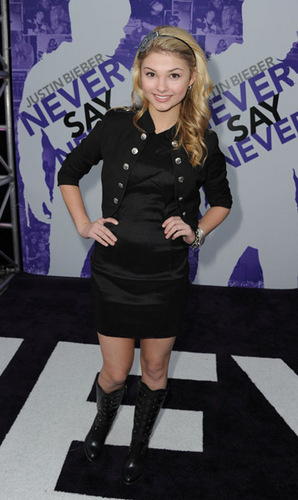 never say never premiere