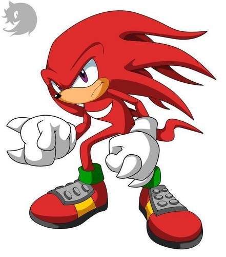 Knuckles the Echidna wallpaper possibly containing anime called ready to fight