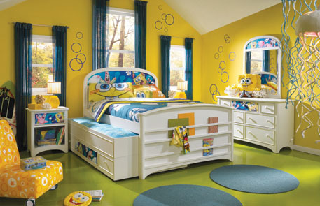 spongebob room