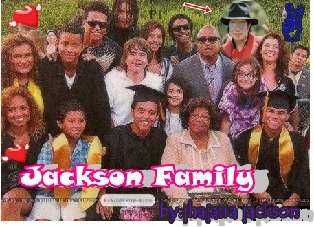 Prince Michael Jackson wallpaper titled the whole family