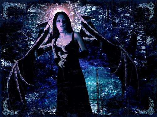 vampire and malaikat