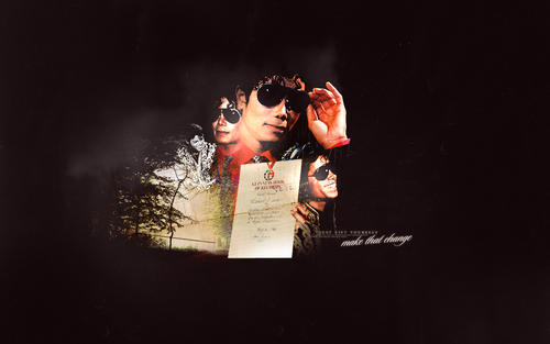 michael jackson fondo de pantalla probably containing a sign and a newspaper called muro
