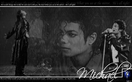 Michael Jackson wallpaper possibly with a concert and a sign entitled wall