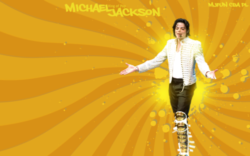 Michael Jackson wallpaper possibly containing a parasol entitled wall