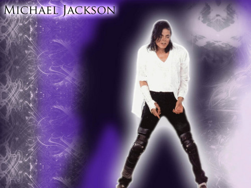 Michael Jackson wallpaper probably with a legging titled wall