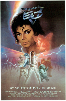 [1986] Captain EO (Cover Art and Posters)