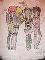 :3 - anime fan art