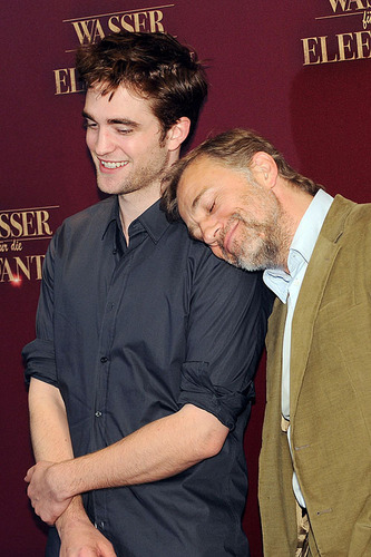 """""""Water For Elephants"""" Photocall Pics from Berlin"""