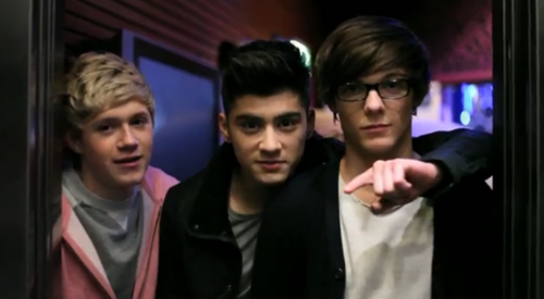 1D = Heartthrobs (Enternal 爱情 4 1D) Niall, Zayn & Louis! 爱情 1D Soo Much! 100% Real :) ♥