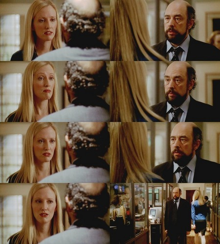 The West Wing wallpaper titled 3x12- Toby and Donna