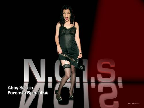 NCIS wolpeyper possibly containing a leotard called Abby Sciuto Forensic Specialist