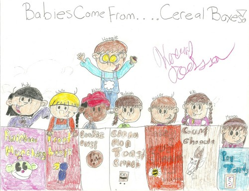 Babies Come From...Cereal Boxes! Scanned Version